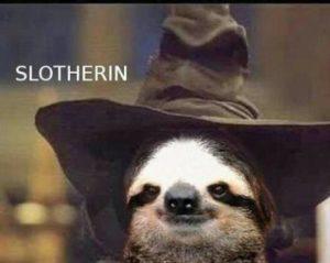 Sloth Meme - Slotherin.