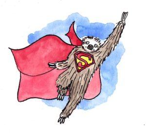 Sloth Meme - Superman Sloth.