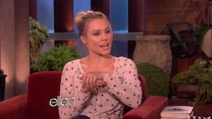 Video Feautured Image - Kristen Bell's Sloth Meltdown