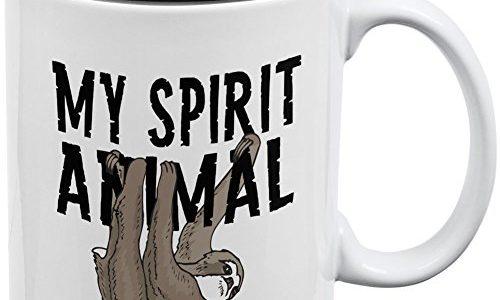 Enjoy A Hot Drink With A Sloth Coffee Mug